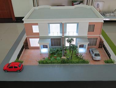 Vivenda modelo A - Condomínio Kassama - PHN maquetes
