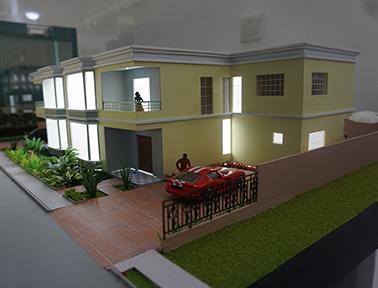 Vivenda Modelo B - Condomínio Kassama - PHN Maquetes