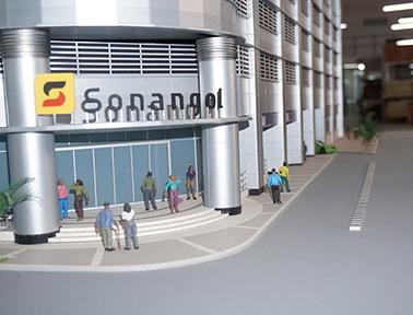 Maquete - Edifício Sonangol - PHN