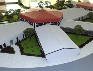 Departamento de Arquitetura da Universidade Agostinho Neto - PHN Maquetes